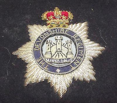 Stoff Effekten The Devonshire Regiment England Großbritannien