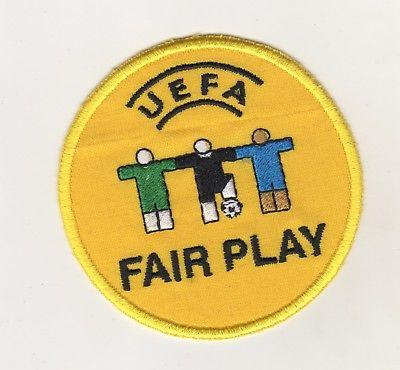 Stoff Aufnäher Fußball Euro 2008  UEFA Fair Play  Patch