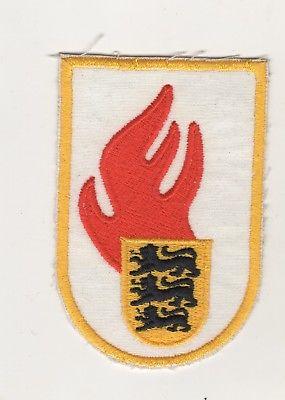 Original Aufnäher Patches Feuerwehr Baden-Württemberg