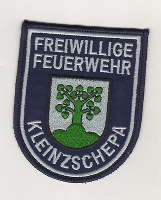 Original Uniform Aufnäher Patches Freiwillige Feuerwehr Kleinzschepa Sachsen