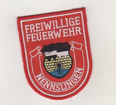 Original Uniform Aufnäher Patches Freiwillige Feuerwehr Nennslingen
