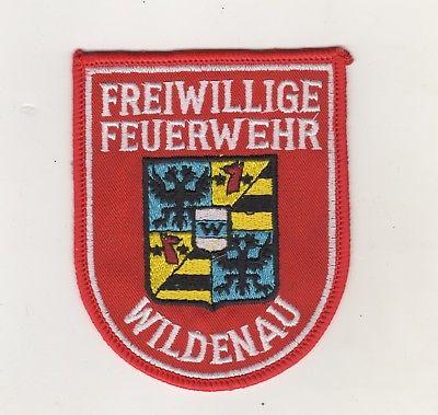 Original Uniform Aufnäher Patches Freiwillige Feuerwehr Wildenau Selb