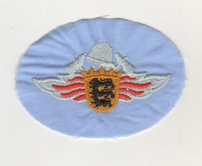 Aufnäher Patches Feuerwehr Baden Württemberg Hellblau