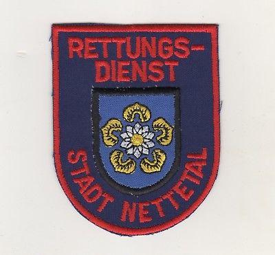 Original Uniform Aufnäher Patches Rettungsdienst Stadt Nettetal