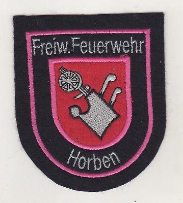 Uniform Aufnäher Patches Feuerwehr Horben Landkreis Breisgau Hochschwarzwald