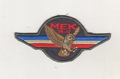 Original Aufnäher Patches MEK M-V  Mecklenburg-Vorpommern SEK Personenschutz