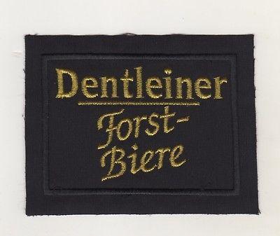 Original Aufnäher Patches Brauerei Dentlein Dentleiner Forst Biere