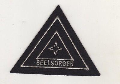 Uniform Aufnäher Patches Feuerwehr Seelsorger