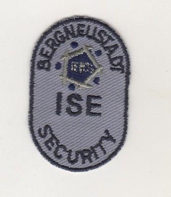 Uniform Aufnäher Patches Security ISE  Bergneustadt