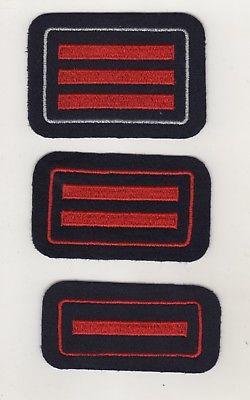 Original Uniform Aufnäher Patches 3 x Feuerwehr