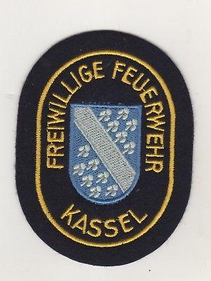 Uniform Aufnäher Patches Freiwillige Feuerwehr Kassel