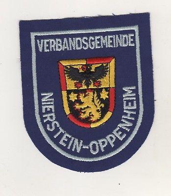 Uniform Behörden Aufnäher Patches Verbandsgemeinde Nierstein-Oppenheim