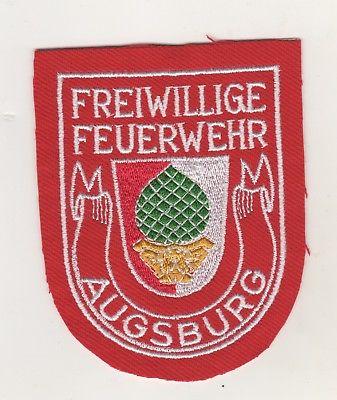 Uniform Aufnäher Patches Ärmelabzeichen Freiwillige Feuerwehr Augsburg