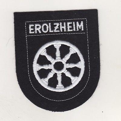 Aufnäher Patches Ärmelabzeichen Erolzheim Landkreis Biberach Baden Württemberg