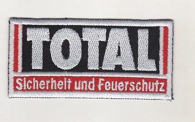 Aufnäher Patches Firmen Bekleidung Total Feuerschutz Ladenburg Betriebsfeuerwehr