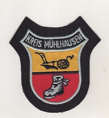 Behörden Uniform Aufnäher Patches Kreis Mühlhausen Unstrut-Hainich Kreis