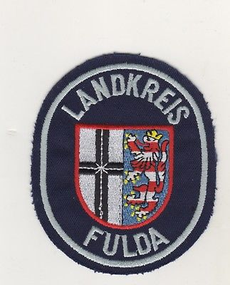Feuerwehr Uniform Behörden Uniform Aufnäher Patches Landkreis Fulda