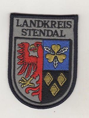 Original Behörden Aufnäher Patches Landkreis Stendal Sachsen-Anhalt Feuerwehr