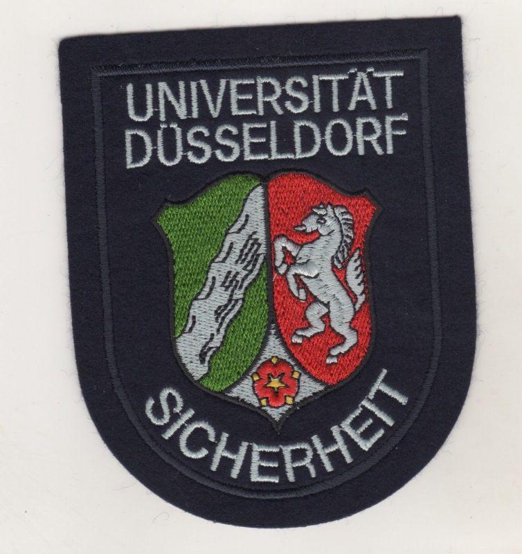 Original Aufnäher Universität Düsseldorf Sicherheit