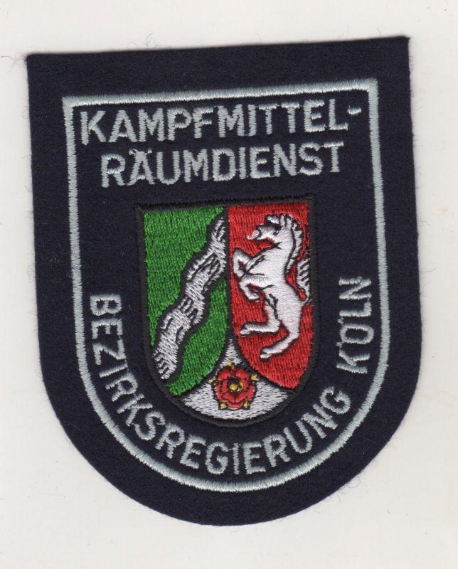 Uniform Behörden Aufnäher Patches Kampfmittel Räumdienst Bezirksregierung Köln