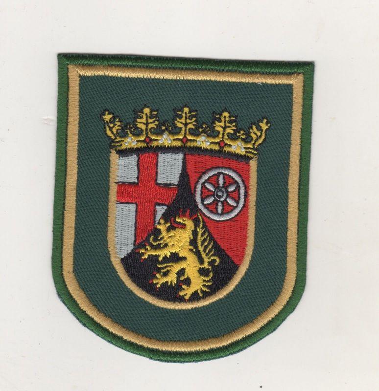 Uniform Behörden Aufnäher Patches Landeswappen von Rheinland-Pfalz