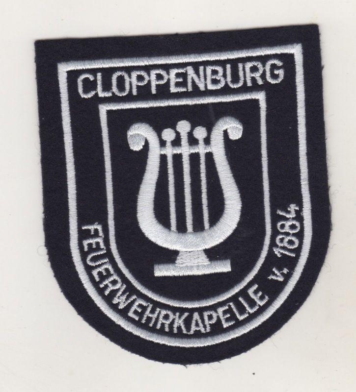 Uniform Aufnäher Patches Feuerwehr Feuerwehrkapelle Cloppenburg Musik