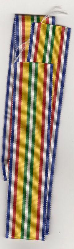 Nr.8 Studenten Band  Rot / Weiss / Blau / Gelb / Grün