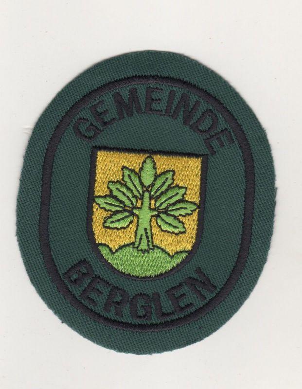 Uniform Aufnäher Patches Gemeinde Berglen Rems-Murr-Kreis Baden Württemberg