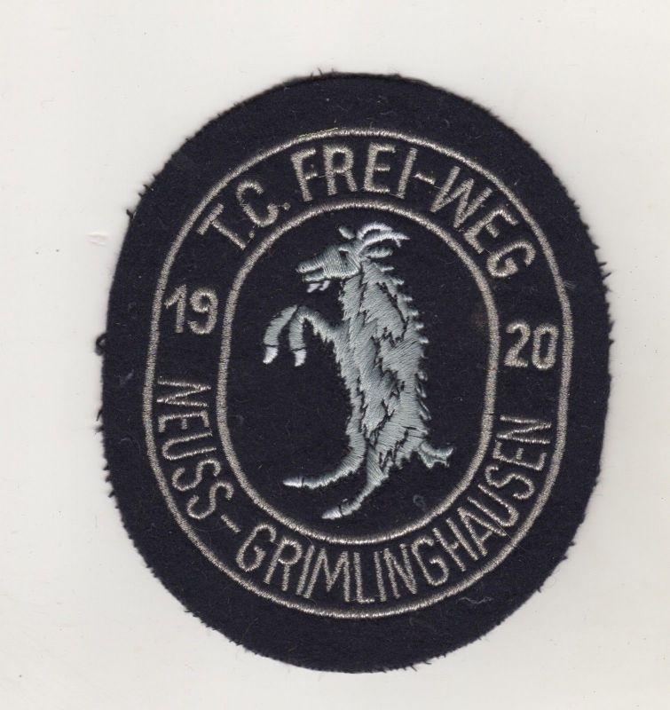 Aufnäher Patches Tambour-Corps 1920 Frei Weg Neuss Grimlinghausen