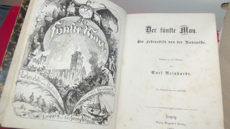 Der fünfte Man - Ein Lebensbild von der Unterelbe Carl Reinhardt 1866