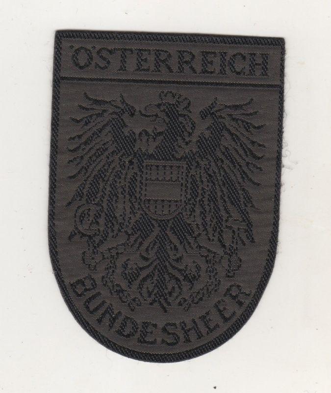 Uniform Aufnäher Patches Österreich Bundesheer Oliv Austrian Army Patch