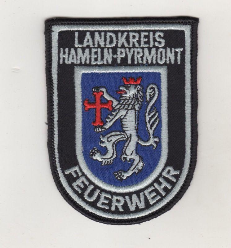 Original Uniform Aufnäher Patches Feuerwehr Hameln Pyrmont