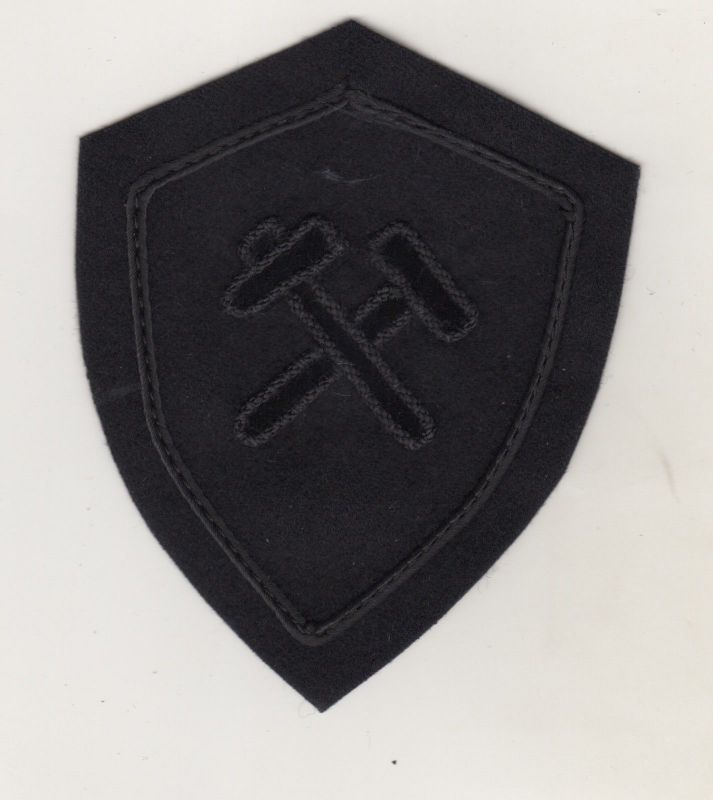 Aufnäher Patch Bergbau Uniform