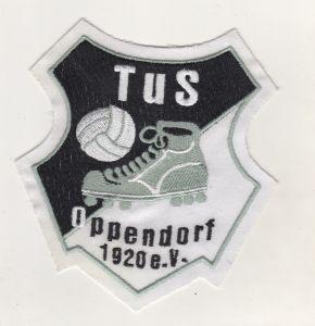 Stoff Aufnäher Patches TuS Oppendorf 1920 e.V Fussball Verein  Stemwede