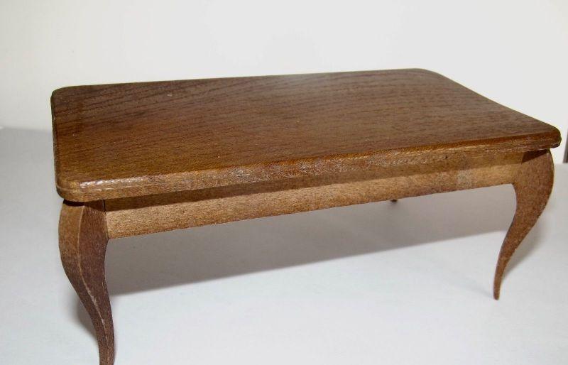 Puppenstuben Tisch 14 cm x 8 cm
