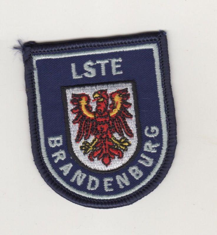 Aufnäher Patches Landesschule für Brand u.Katastrophenschutz Brandenburg / Weiss