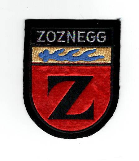 Aufnäher Patch Wappen Zoznegg Ortsteil von Mühlingen Landkreis Konstanz