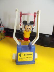 X- Walt Disney Micky Maus am Trapez Trapez-Artist Simex USA Lizenz