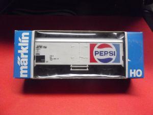 X - Märklin 4419 Kühlwagen PEPSI COLA neuwertig und mit Originalverpackung