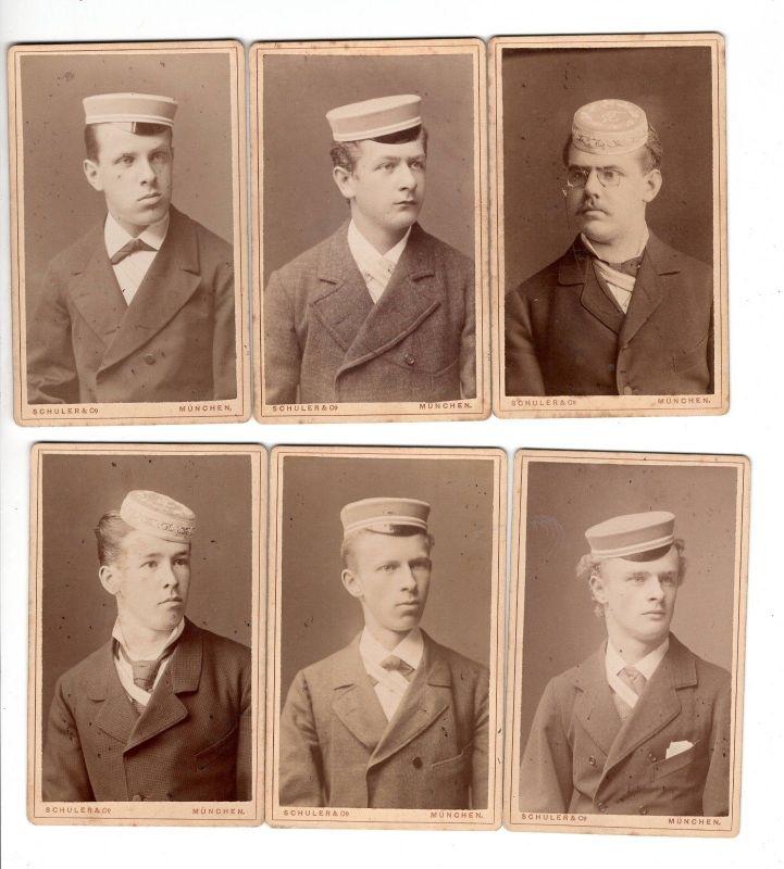 X 2 - Studentika Burschenschaft 1883 Fotos München Schuler & Co