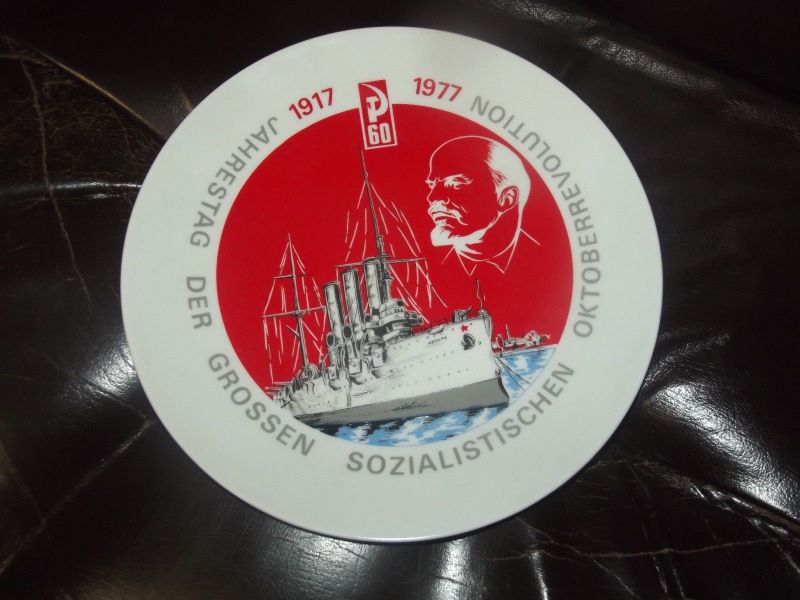 X - DDR Ehrenteller der Grossen Sozialistischen Oktoberrevolution Lenin 1977