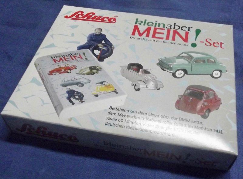 X - Schuco Klein aber Mein - Set Box OVP BMW Isetta - Kabinenroller - Lloyd 600