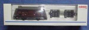 X - Märklin 46821, Gedeckter Güterwagen mit Straßenroller