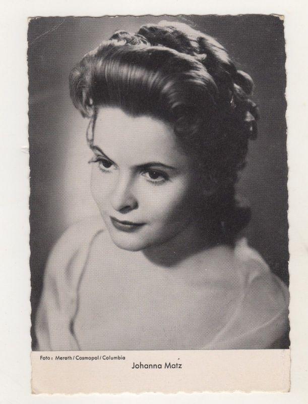 Alte Ansichtskarte Film Schauspieler Johanna Matz