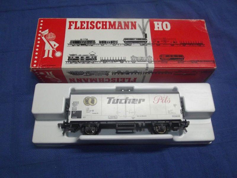 X Fleischmann H0 Kühlwagen Brauerei Tucher Nürnberg 5326