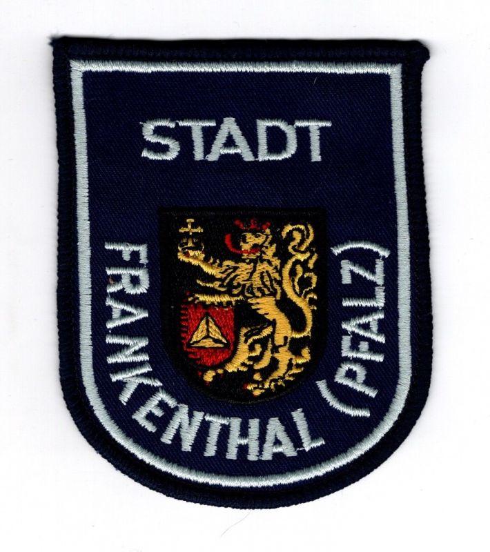 Aufnäher Patch Stadt Frankenthal Pfalz Wappen 0