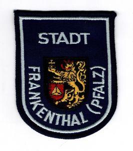 Aufnäher Patch Stadt Frankenthal Pfalz Wappen