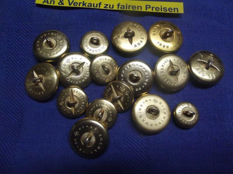 113303 Deutsche Reichsbahn Kordelknöpfe Mütze 10x gold gekörnte Knöpfe