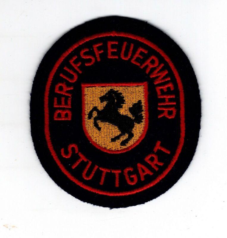 Patch Abzeichen Aufnäher Feuerwehr Berufsfeuerwehr Stuttgart