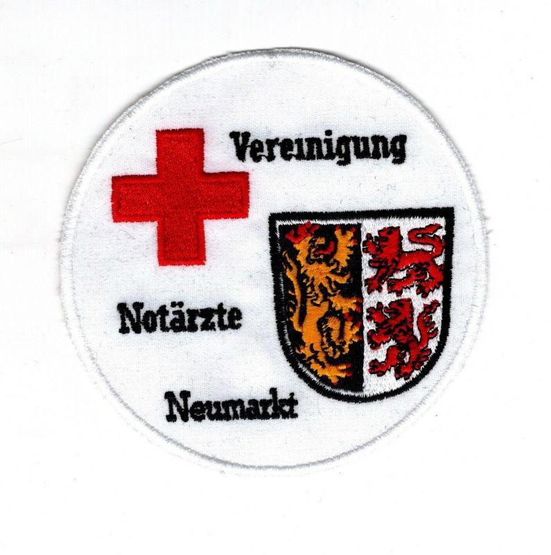 Aufnäher Patch Rotes Kreuz Vereinigung Notärtze Neumarkt Oberpfalz